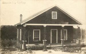 1910s RPPC Postcard Small Bungalow House Alexander Mfg Co. Unknown US Location