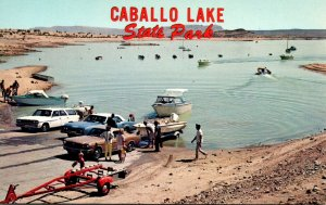 New Mexico Truth Or Consequences Caballo Lake State Park Boat Ramp
