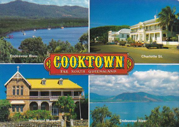 Australia Cooktown Multi View Far North Queensland