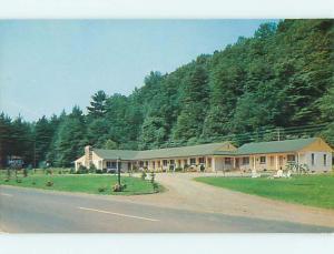 Unused Pre-1980 HEMLOCK MOTEL Trout Run Pennsylvania PA u2213@