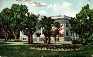 California Long Beach Public Library 1910