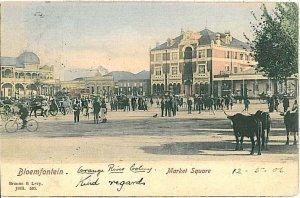 VINTAGE POSTCARD: SOUTH AFRICA - Bloemfontein 1906