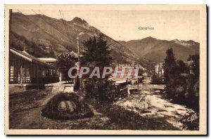 Postcard The Old Station of the Gave Raillere and Cabaliros