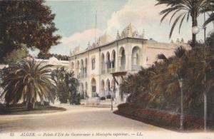 ALGER, 1900-1910´s; Palais D'Ete Du Gouverneur A Mustapha Superieur