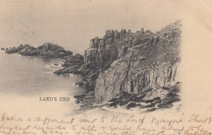 LAND'S END, Cornwall, England, UK, PU-1903; TUCK Series 315 II