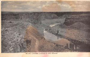 Lincoln Co Idaho Blue Lakes Birdseye View Antique Postcard K84019