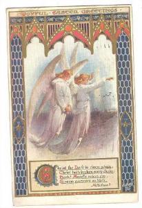 Two Angels, Joyful Easter Greetings, PU-1908