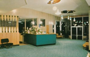 NANAIMO, British Columbia, Canada, 50-60s; Shoreline Hotel , Lobby