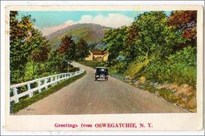 Greetings from Oswegatchie NY