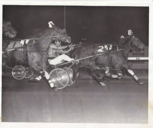 The Popular Local Pacer, Lucky John V. Scores A Tight Decision