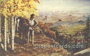No. 45 Artist L.H. Larson Postcards Post Cards Old Vintage Antique unused