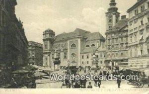 Freyung mit Schottenpfarrkirche Wien, Vienna Austria Unused