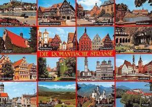 Die Romantische Strasse, Wuerzburg, Creglingen, Rothenburg, Weikersheim