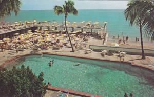 Swimming Pool,  The Crown Hotel,  Miami Beach,  Florida,    40-60s