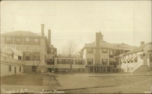 South Framingham MA Hospital c1910 Real Photo Postcard