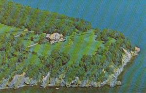 Canada Aerial View Beinn Bhreagh Baddeck Cape Breton Nova Scotia