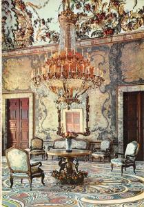 Spain Madrid Palacio Real, Salon de Gasparini, Royal Palace Gasparini's Hall