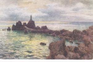 TUCK 7319 ; JERSEY.-La Corbiere Lighthouse , 00-10s