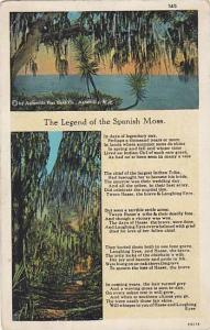The Legend of the Spanish Moss,PU-1932
