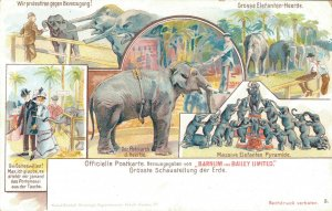 Circus Barnum and Bailey Limited Grosse Elefanten Heerde 04.07