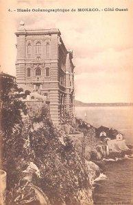 Musee Oceanographique de Monaco Cote Ouest Unused