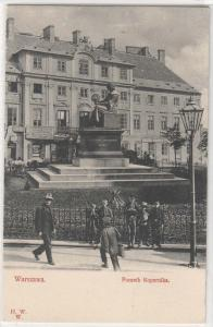 Warszawa, Pomnik Kopernika
