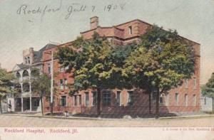 Illinois Rockford Rockford Hospital 1908