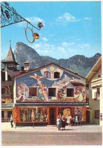 Passionsdorf Oberammergau Germany Haus Kofel 4X6 chrome