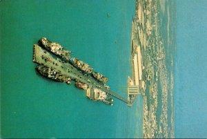 Bahrain Mina Sulman Aerial View