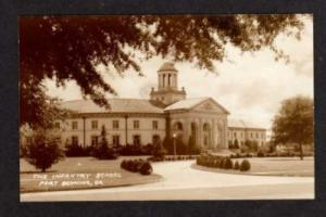 GEORGIA FORT Ft BENNING GA Infantry School Military Real Photo Postcard