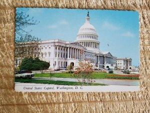 UNITED STATES CAPITOL,WASHINGTON,DC.VTG POSTCARD*P48