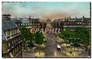 Modern Postcard Paris and Avenue Wonders of & # 39Opera