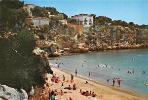 Spain Porto Cristo (Mallorca ) Beach Playa General view