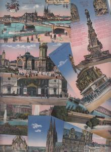 Lot 10 postcards Koln am Rhein Koeln Germany