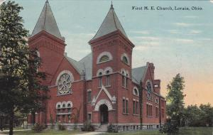 LORAIN, Ohio, PU-1911; First M. E. Church