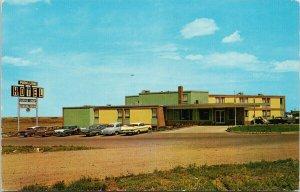 Park Lane Motor Hotel Medicine Hat AB Alberta Motel Unused Vintage Postcard F57