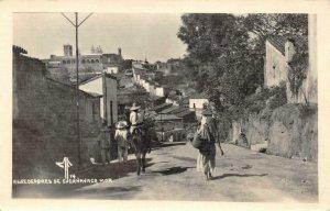 RPPC Alrededores de Cuernavaca, Mexico Street Scene ca 1930s Vintage Postcard