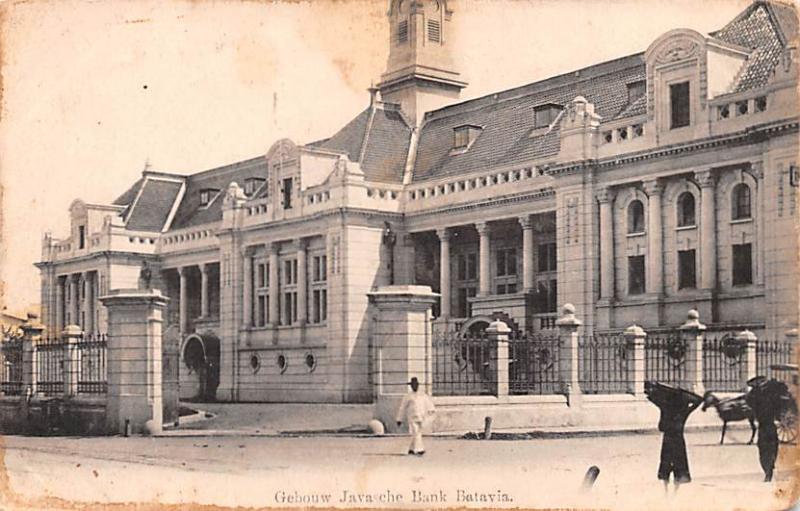Batavia Indonesia, Republik Indonesia Gebouw Javasche Bank Batavia Gebouw Jav...