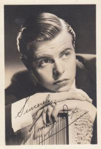 Tommy Dix Signed Antique Photo