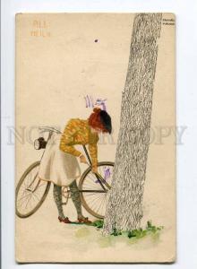 257494 All Heil ART NOUVEAU Bike by Raphael KIRCHNER Vintage