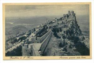 Repubblica di S. Marino, panorama generale della Citta, 00-10s