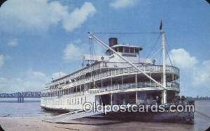 The Delta Queen, Memphis, Tennessee, TN USA Steam Ship Postcard Post Cards Un...