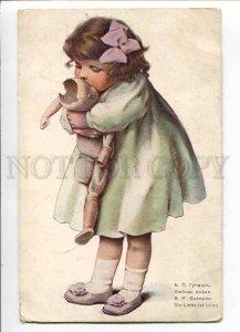 280113 Love Blind DOLL by Bessie Pease GUTMANN vintage RUSSIA