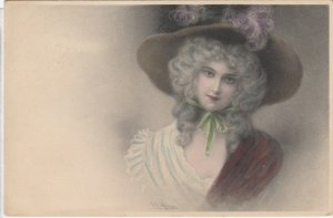 M.M.VIENNE : Female Head Portrait by Wichera , 00-10s #2