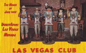 The House of Jack Pots,  downtown Las Vegas,  Nevada,  40-60s