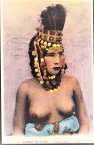 African Woman in pretty headress