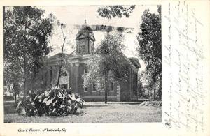 Paducah Kentucky Court House Street View Antique Postcard K80913