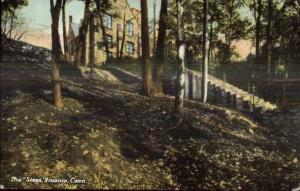 Ansonia CT The Steps c1910 Postcard