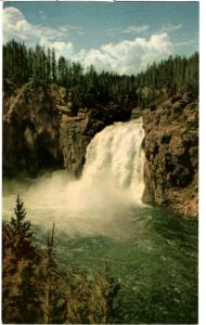 Haynes 41 SERIES #341 The Upper Falls of the Y'stone, Yellowstone National Park