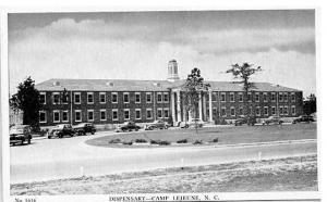NC - Camp Lejeune, Dispensary  WWII Era